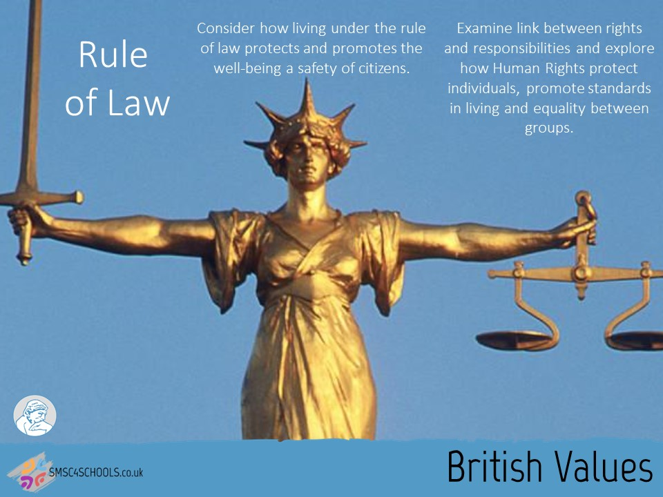 British Values 2016 - 2 - Rule Of Law